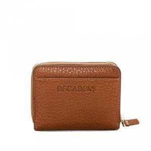 Bilde av Decadent Essie Mini Zip Wallet Cognac