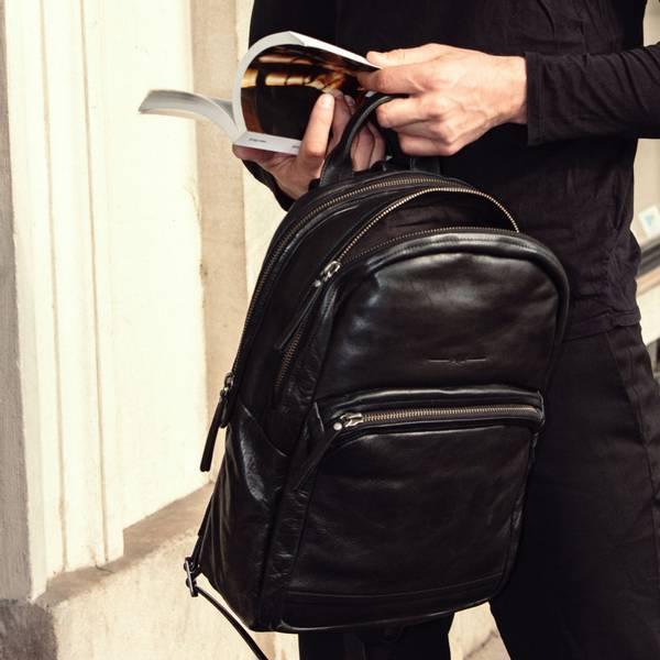 Aunts and Uncles Subwoofer Backpack Black